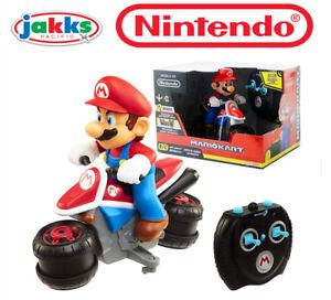 Image Is Loading Wii Nintendo Mario Kart Anti Gravity Motorcycle Electric