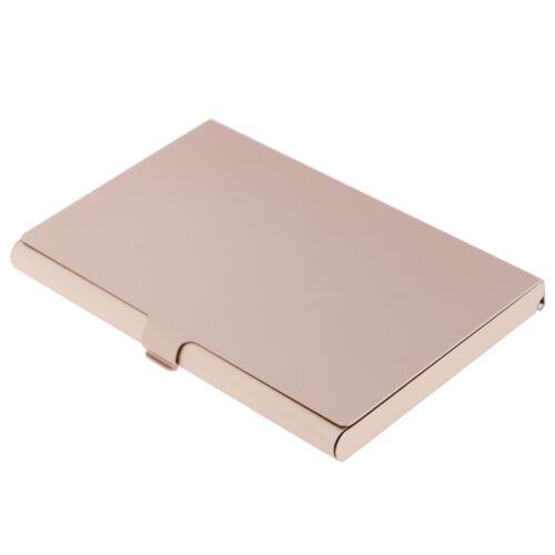 Porta biglietti da visita professionale da 1Pc per porta carte in alluminio pe