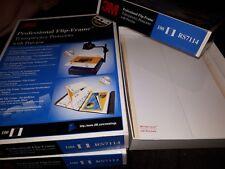 100 Stück 3M Flip-Frame Transparency Protectors Präsentationshüllen RS7114 neu