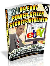 99 EBAY POWER-SELLER SECRETS REVEALED PDF EBOOK FREE SHIPPING RESALE RIGHTS