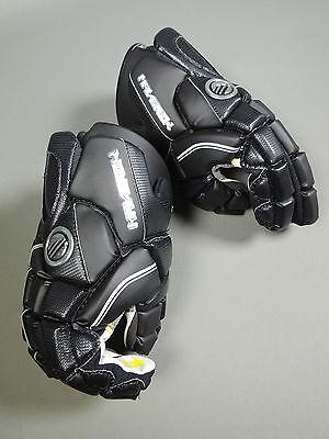 """NEW Maverik Mission Senior Lacrosse Gloves 13"""" Black Retails for $124.99 Adult"""