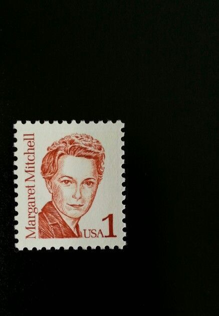 1986 1c Margaret Mitchell, Author Scott 2168 Mint F/VF