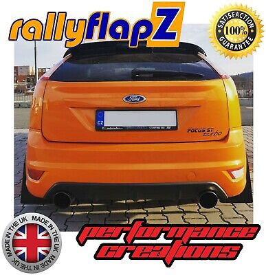 Focus St Mud Flaps >> Rallyflapz Ford Focus St Mk2 St225 04 11 Qty4 Mud Flaps Fixings Black 4mm Pvc 5060347297612 Ebay