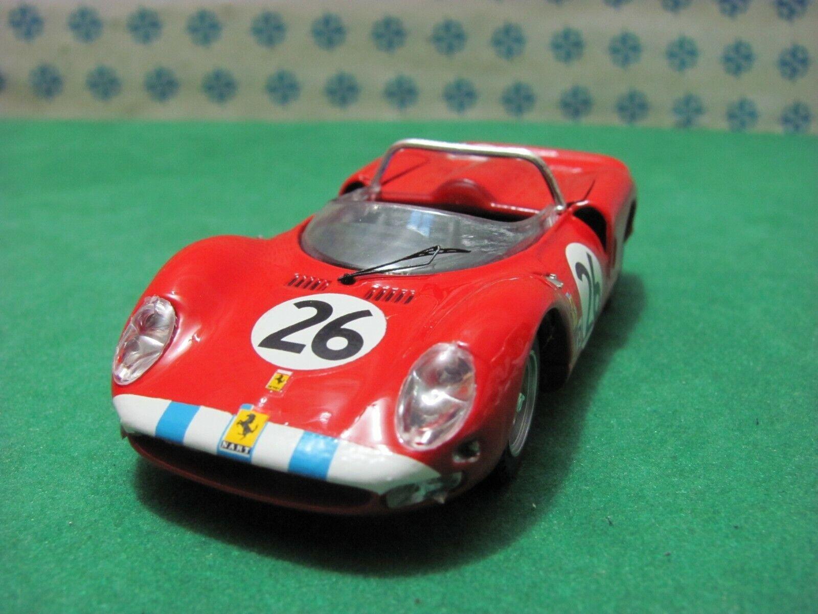 Ferrari 330 P2 4000cc. Spyder Scuderia Nart   Sebring 1966   -1 43 Best Model