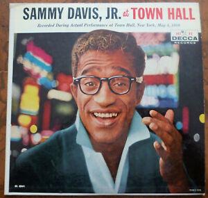 SAMMY-DAVIS-JR-At-Town-Hall-LP-Vinyl-Record-Album-ORIGINAL-PROMO-1958