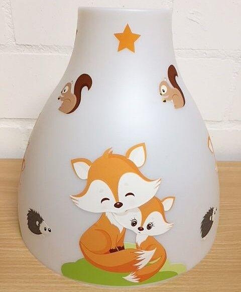 Hängelampe - FUCHS FOX Orange -  1- oder 2-flammig  - auch LED - mit ohne Name | Deutschland Online Shop