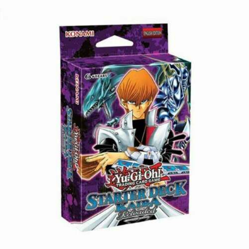 Game Mat Guide -No Box Starter Deck: Kaiba Reloaded UNL Yu-Gi-Oh 50 Cards