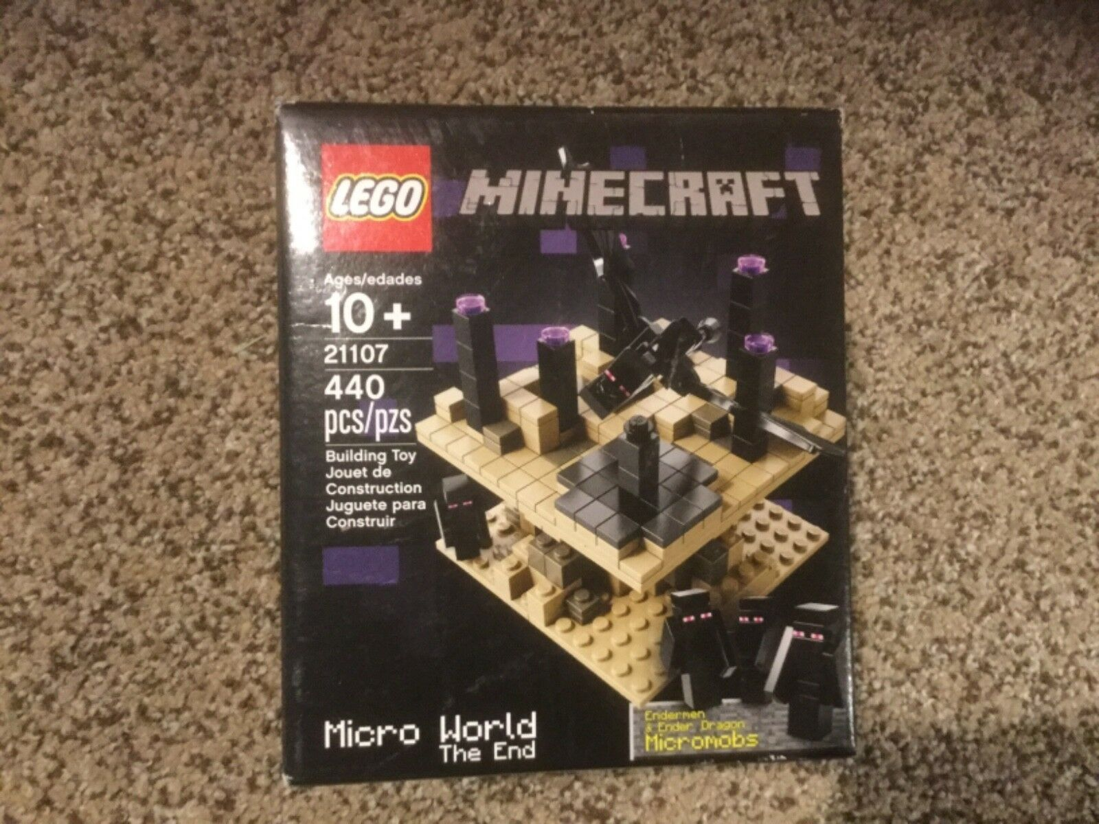 NIB LEGO Minecraft Micro World-The End  21107
