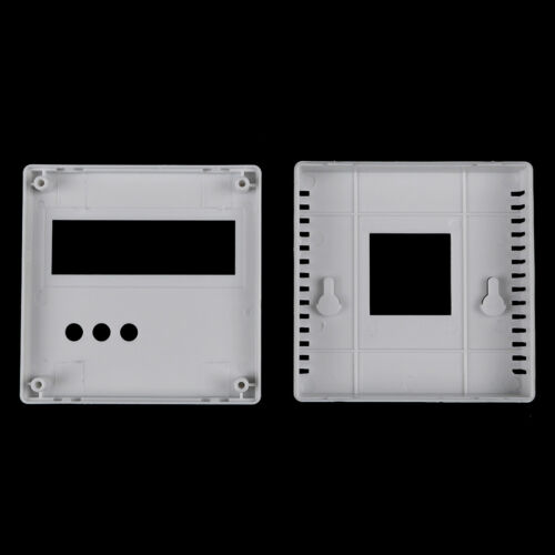 86 Plastic project box enclosure case for diy LCD1602 meter tester with buttonBI