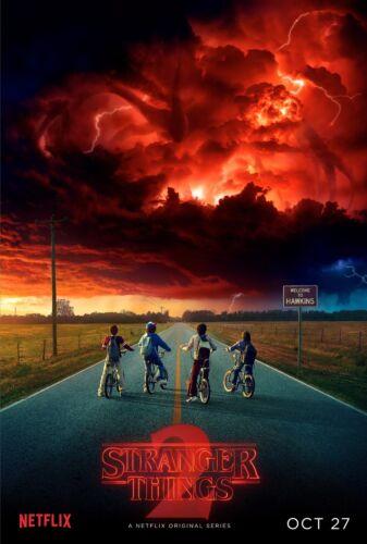 Poster A3 Stranger Things Netflix 2 Serie Cartel Decor Impresion 01
