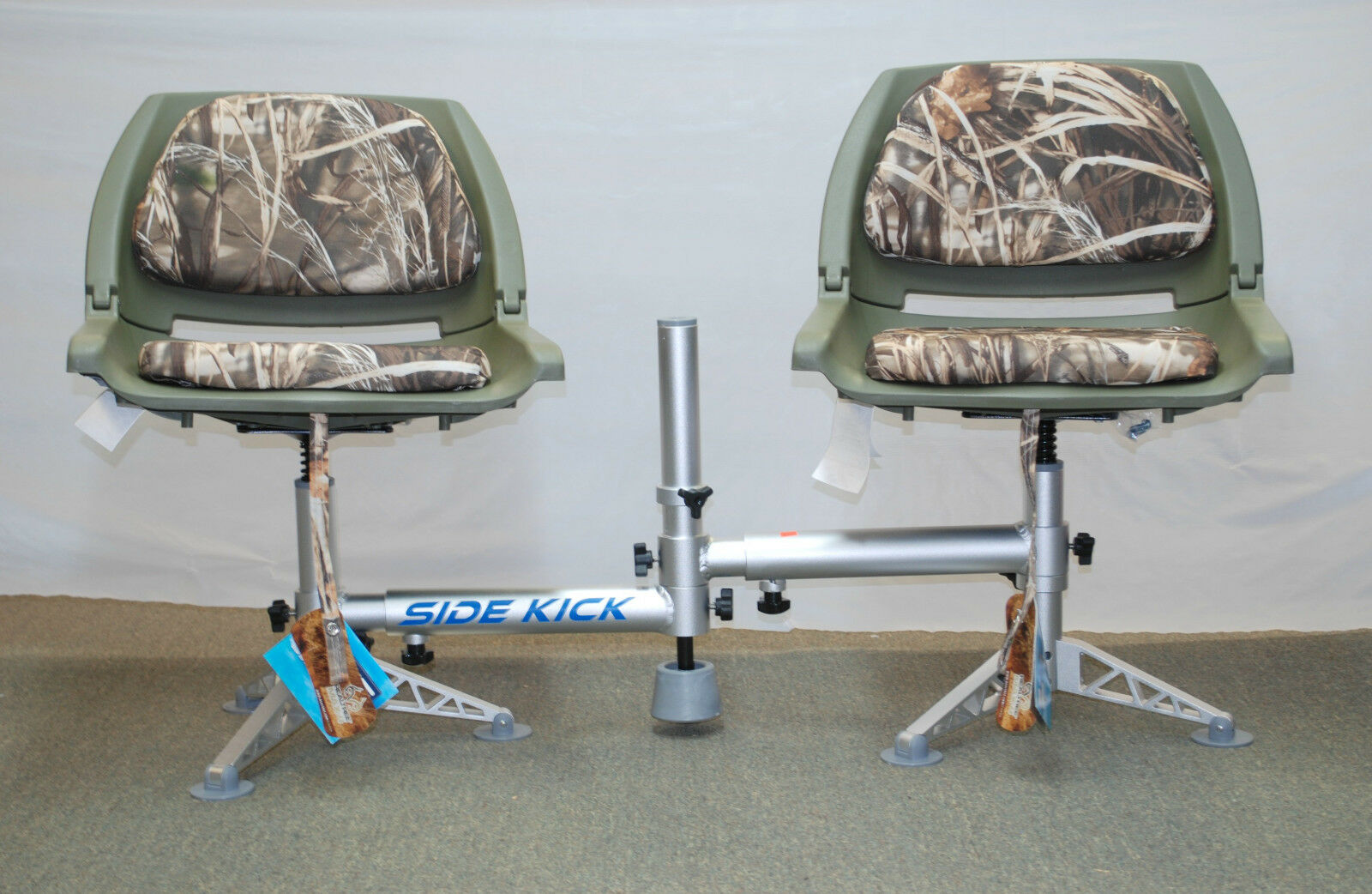 MILLENNIUM DOUBLE SEAT STAND D200 SPECIAL W  2 WISE  CAMO PLASTIC SEATS  new products novelty items