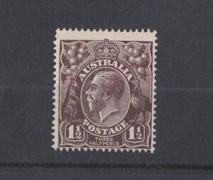 1918-Australia-1-1-2d-black-brown-SG-58-single-wmk-mlh