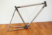 51cm 700C Fixie Fixed Gear Track Frame Columbus THRON RAW Rust Alive Passense