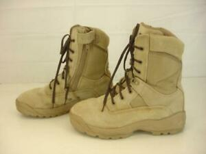 Mens-9-M-5-11-Tactical-ATAC-8-034-Coyote-Brown-Desert-Suede-Leather-Boots-Military