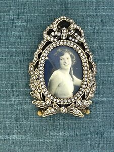 I-Am-Edgar-Berebi-My-USA-Miniature-Frame-Made-2001-Fabrege-Quality-175-Retail