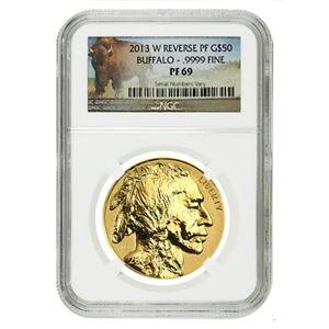 2013-W-1-oz-50-Reverse-Proof-Gold-American-Buffalo-NGC-PF-69