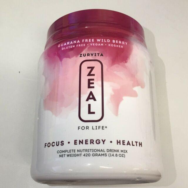 ZURVITA Zeal for Life 30 Day Supply