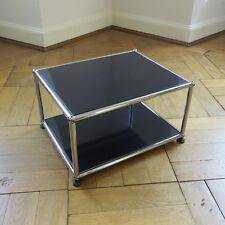 * USM Haller * Beistelltisch Couchtisch TV Ständer Tisch * Schwarz * 395 x 500 *