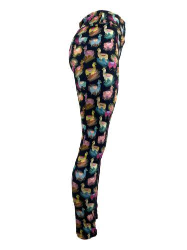 Llama or Alpaca Just Don/'t Let Them Spit On You OS Curvy Diva Cute Leggings