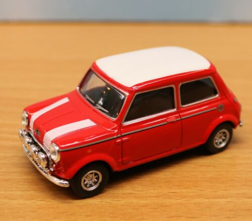 Spur 0 rot-weiss 1:43 Austin Mini Cooper Schuco 403331151  .80