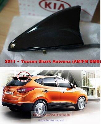 For 2011-2014 Hyundai Tucson Shark Roof Antenna Satellite GPS DMB Genuine Part
