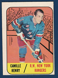 CAMILLE-HENRY-67-68-TOPPS-1967-68-NO-26-EX-37910