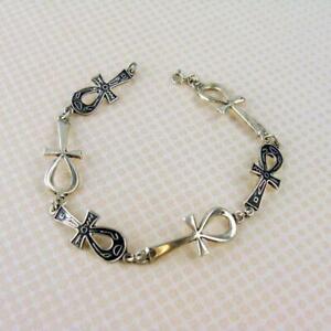 Sterling-Silver-Ankh-Bracelet-8-034