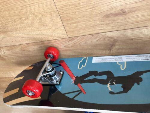 "SKATEBOARD RETRO URBAN DECK CRUISER SKATER SKATING WOODEN BOARD 31/"" ABEC9"