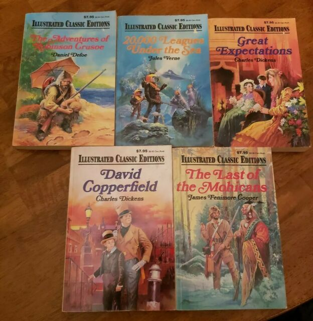 Illustrated Classic Editions Lot Of 5great Classic titles Ages 9-12 Paperback