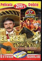 Pelicula Doble: El Rey / Viva Mexico Y Sus Corridos, Brand Factory Sealed 2