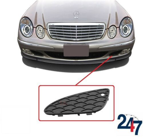 NEW MERCEDES BENZ MB E CLASS W211 03-06 FRONT BUMPER LOWER GRILL LEFT N//S