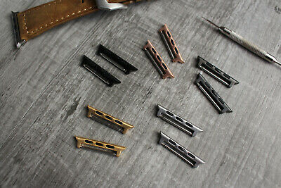For Apple Watch 1 2 3 4 Strap Band Spring Bar Adapters Metal Connectors Fixing Kunden Zuerst