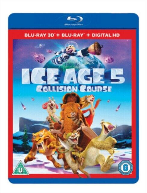 Ice Age 5: Collision Course 2D & 3D BLU RAY *NEW & SEALED*