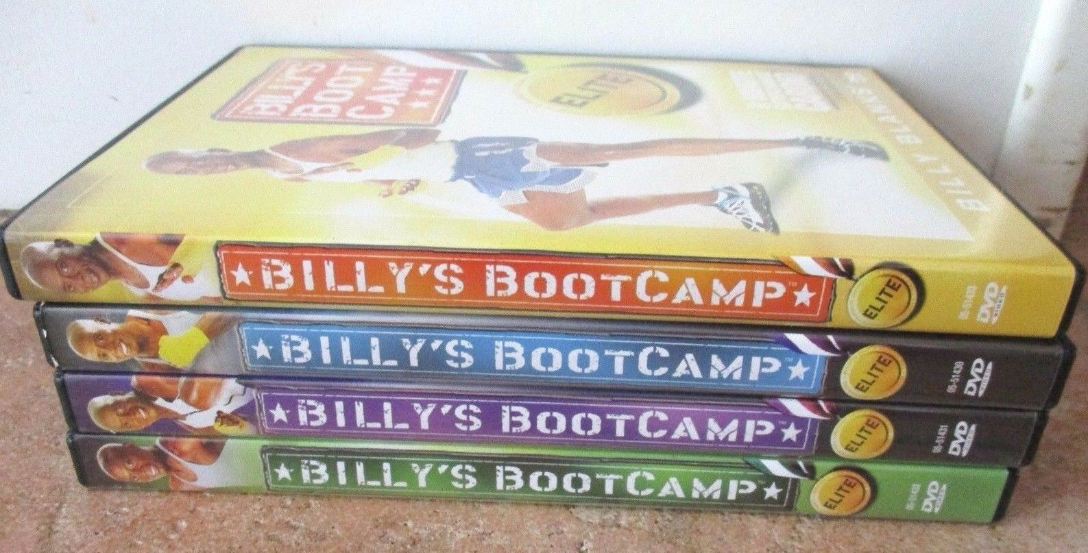 Tae Bo Billy's Bootcamp Billy Blanks – 4 Workout Exercise Fitness DVDs Reviews