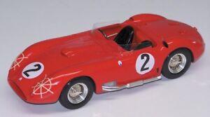 Abc 1806 Maserati 450 S Le Mans N.2 1957 Rouge