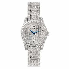 Croton CN207543RHPV Balliamo Crystal Accents Quartz Stainless Steel Watch