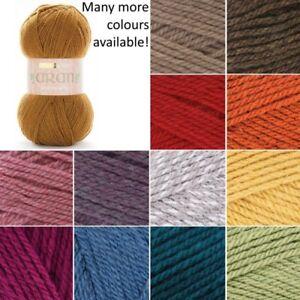 Sirdar-Hayfield-Bonus-Aran-Knitting-Yarn-20-Wool-80-Acrylic-400g-Giant-Ball