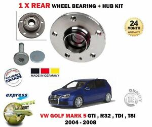 mk5 golf gti rear wheel bearing
