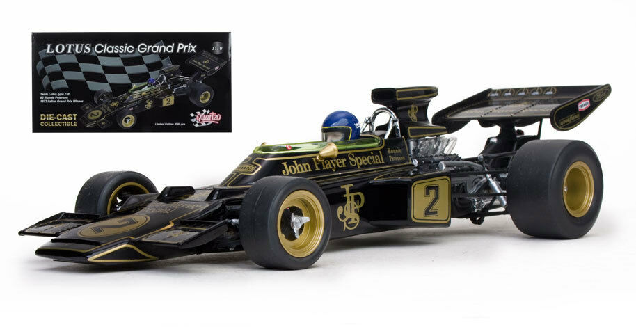 Quartzo 18292 Lotus 72D Winner Italian GP 1973 - Ronnie Peterson 1 18 Scale