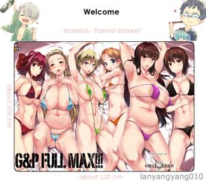 Anime Girls und Panzer Loli Blanket Flannel Throw Bedding Travel Cosplay Gift