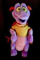 22 Disney Figment The Purple Dragon Full Body Hand Puppet Plush Stuffed Animal