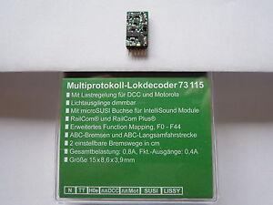 Märklin Décodeur 602758 remplacement carte