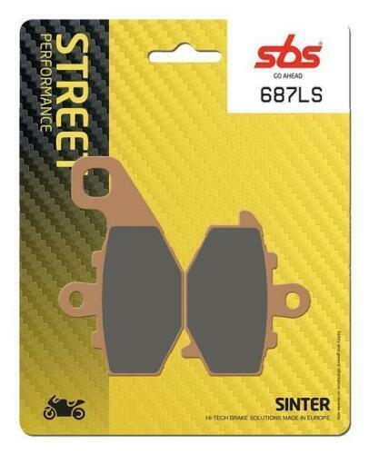 SBS Street Excel Rear Sinter Brake Pads 687LS