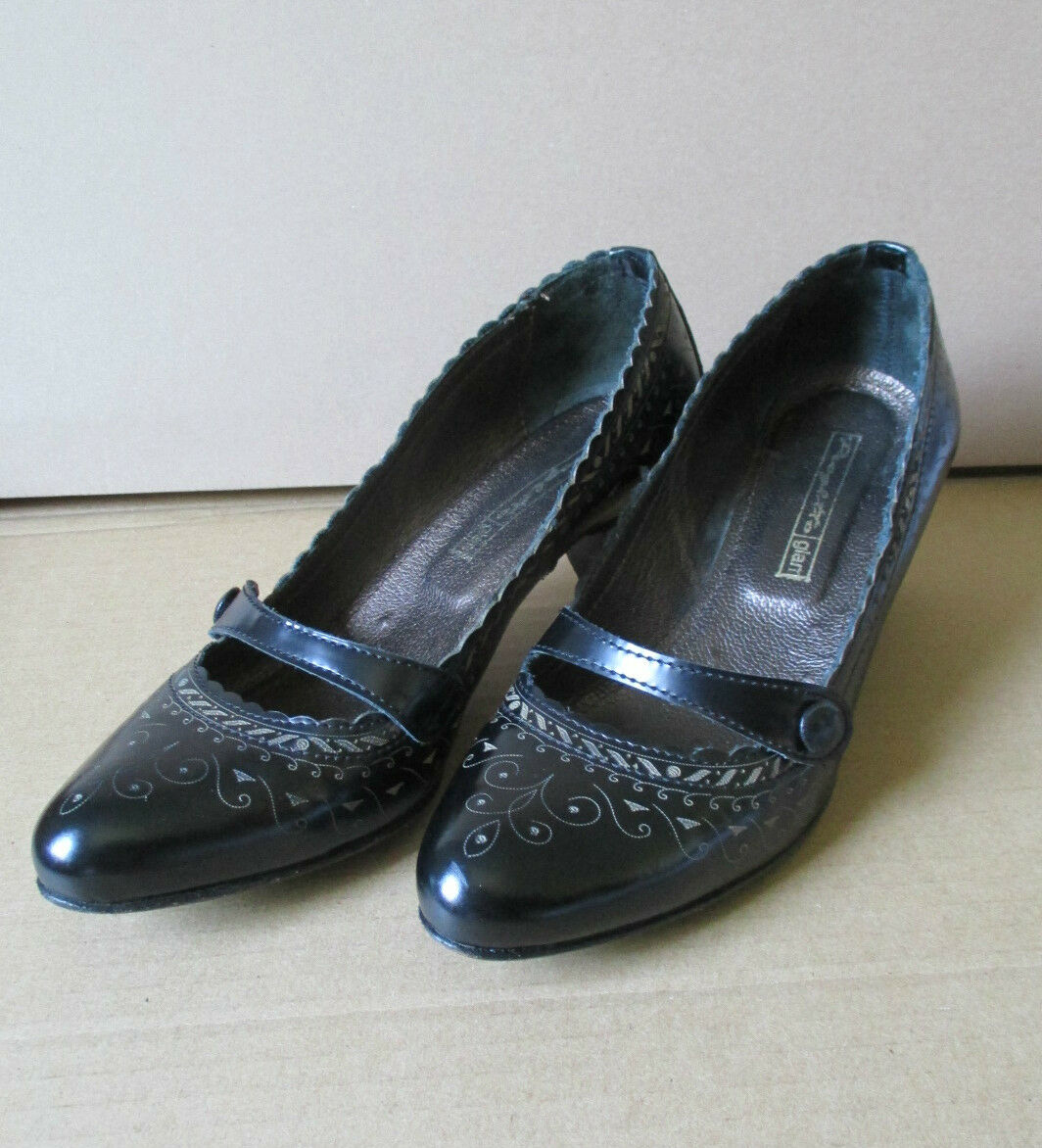 decolté Marrone scuro Progetto MADE IN ITALY 100% pelle Mary Jane CLARKS
