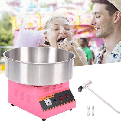"Profi Automat Zuckerwattemaschine Zuckerwatte Candymaker Maschine 20/"" Pan 1300W"