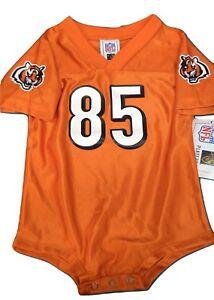 Details about NFL Infant Cincinnati Bengals Chad Ochocinco Johnson #85 Creeper Jersey New