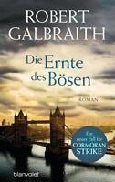 Die Ernte des Bösen Robert Galbraith (Gebundene Ausgabe) Spiegel Bestseller Neu