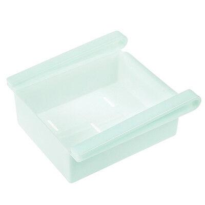 Kitchen Fridge Freezer Space Saver Rack Shelf Holder Organizer Storage Box HI