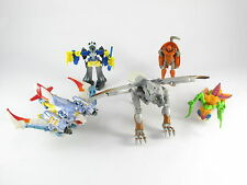 Transformers Beast Wars Incomplete Lot Airazor Silverbolt Mirage Buzzclaw