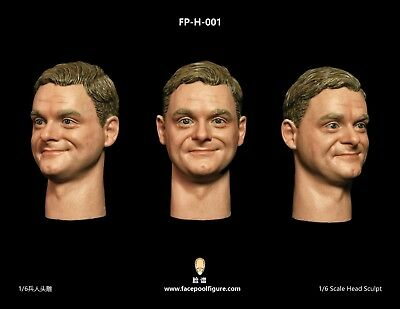 Facepoolfigure FPD001 1//6 Scale Youth Male Head Sculpt with Expression Brand New